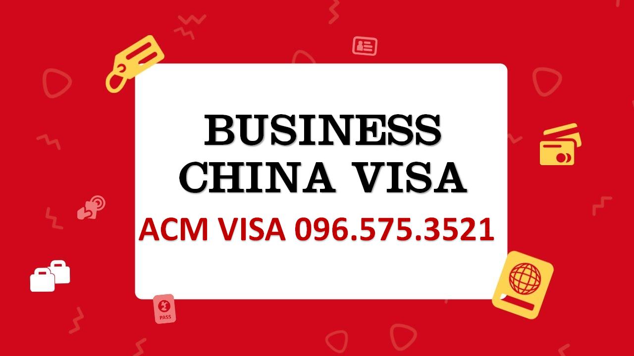 Dịch vụ visa Trung Quốc cho doanh nghiệp