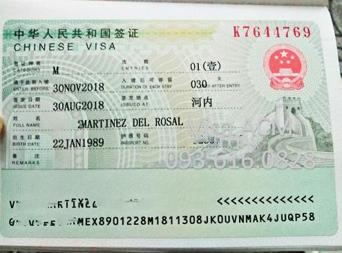 Video hướng dẫn quy trình xin visa Trung Quốc